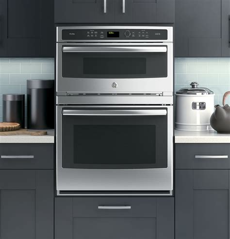 ge built in microwave ge profile series 30 in combination wall oven with convection and advantium 174 technology