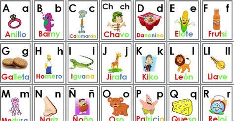 imagenes educativas el abecedario alfabeto completo con vocales para primer y segundo grado