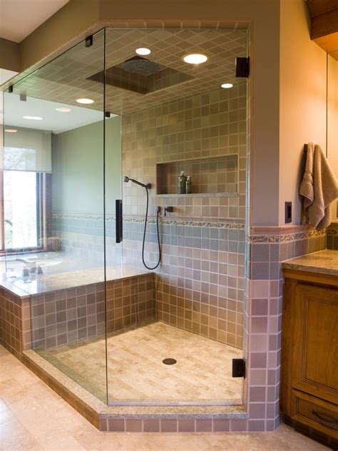 hgtv bathroom showers photos hgtv