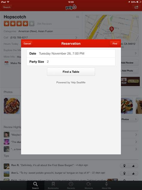 following acquisition yelp taps seatme for its restaurant