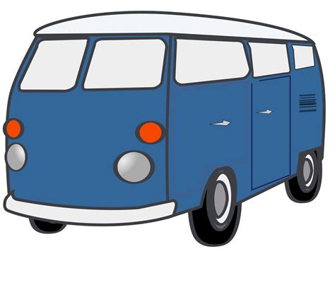 Vw Bus Clipart Cliparts Co