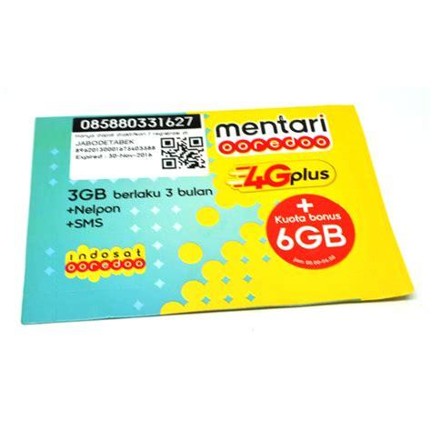 Indosat 3k 4g indosat im3 ooredoo freedom combo l 19gb 3g 4g 3 bulan sudah aktif jakartanotebook