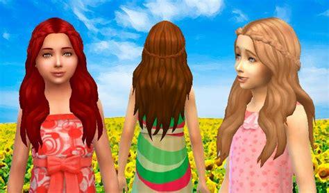sims 4 child hair cc my sims 4 blog kiara24 sensitive hair and more for females