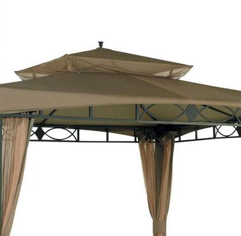hampton bay gazebo replacement canopy  netting garden winds