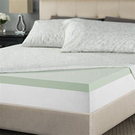 Memory Foam Mattress Topper Dubai by Sleep Master Memory Foam 2 Inch Mattress Topper In