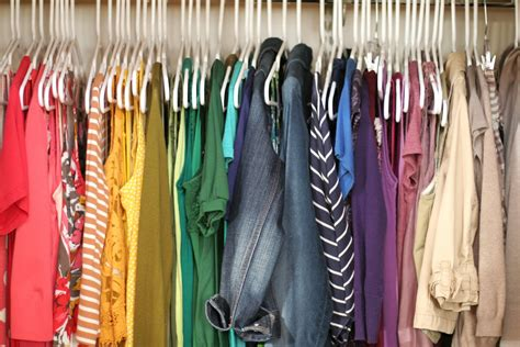 How To Color Code Your Closet by Utilize Your Closet The Right Way