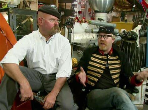 mythbusters confederate steam gun tv episode