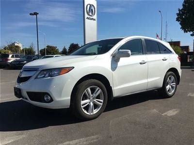 pre owned 2015 acura rdx navigation low mileage extended