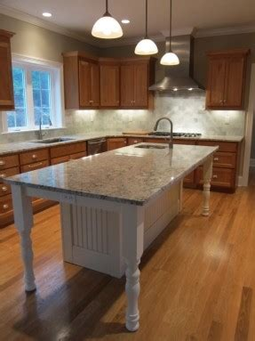 wonderful white finished large kitchen island with sink added plus white kitchen island with granite countertop and prep sink