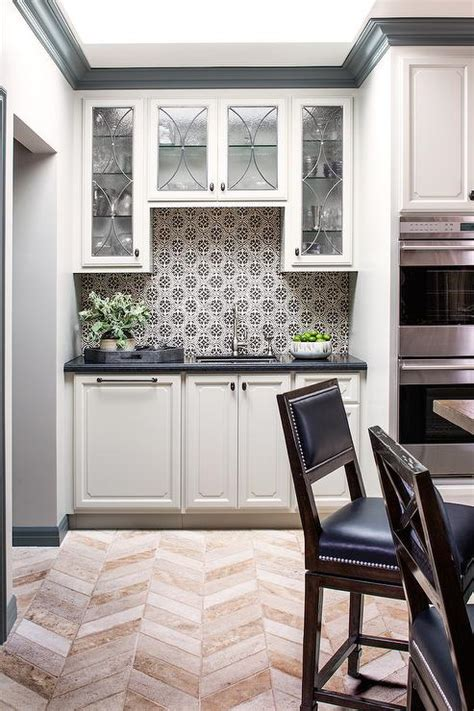 Black And White Kitchen Backsplash by Black And White Mosaic Kitchen Backsplash Tiles