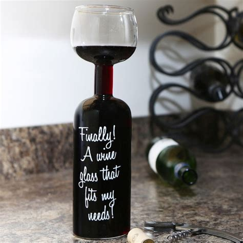 wine bottle glass find me a gift