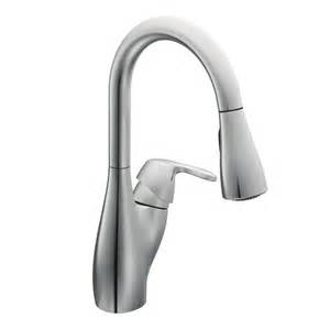 Replacing Single Handle Kitchen Faucet by Faucet Com 7599c In Chrome By Moen