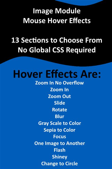 css layout effects image module css mouse hover effects
