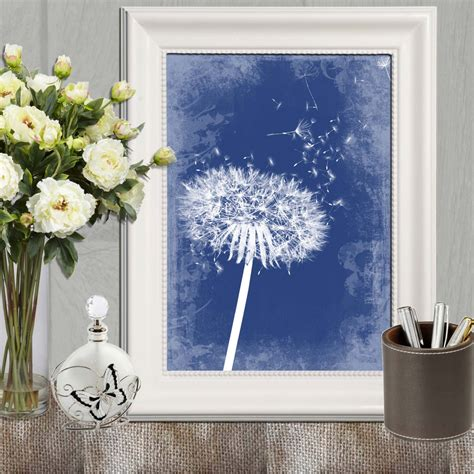 navy home decor navy blue home decor dandelion decor printable navy bedroom