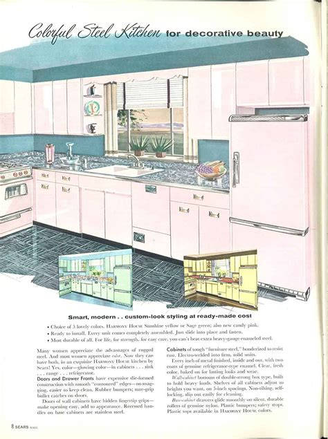kitchen cabinets catalog vintage sears metal cabinetscabinet sizes vintage sears