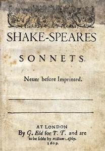 shakespeare s sonnets wikipedia