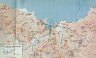 Utah Beach Map by Utah Beach To Cherbourg