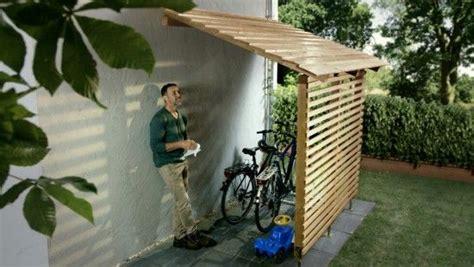 cobertizo para bicis garaje para bicis bikeport ideas y dise 241 os pinterest