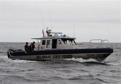 ct river boat launches delaware state police start maritime unit with 2 vessels