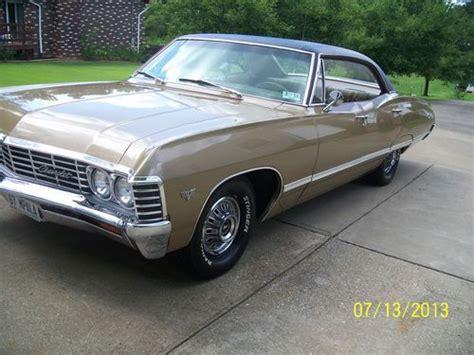 1967 Impala 4 Door by Purchase Used 1967 Chevrolet Impala 4 Door Hardtop In