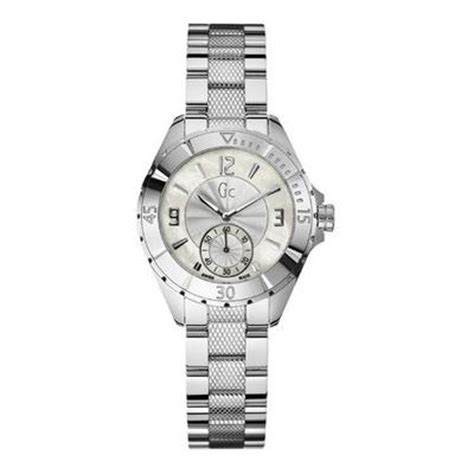 Guess Collection 35003 Silver Steel White guess collection gc sport class xl s a70000l1