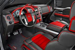 Omaha Upholstery Image Of Red And Black Truck Interior Google Search