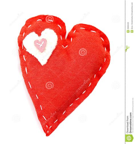 Handcrafted Hearts - handmade stock photos image 29000433
