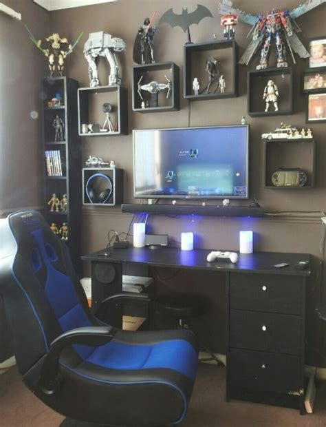 Interior Design Gaming Bedroom D On Great Cool Gaming Room Gaming Bedroom Design