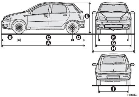 image gallery car measurements