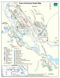 canmore visitor map maplets