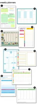 home organization plan sunday planning design finch