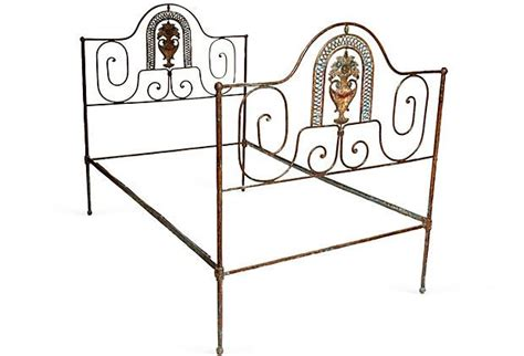 twin iron bed frame 1000 ideas about wrought iron beds on pinterest