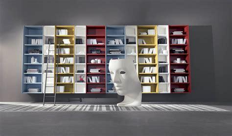 libreria di design librerie di design sospesa e soggiorni moderni by fimar