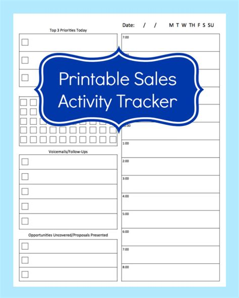 Daily Sales Planner Template 10 sales tracking templates free word excel pdf