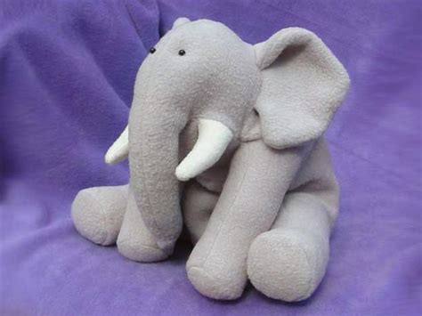 sewing pattern elephant ellie elephant instant download sewing pattern
