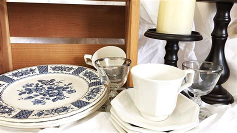 Small Savers country tableware small savers haul