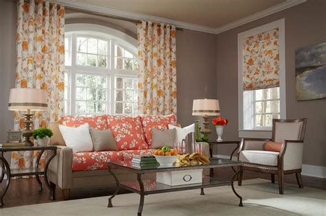 yellow curtains for living room floral orange and yellow curtains draperies of