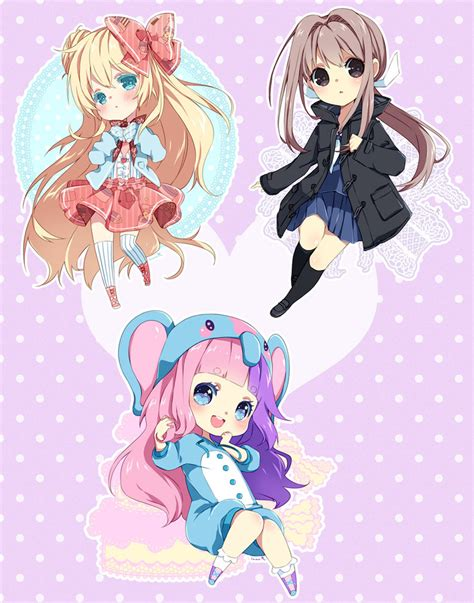 anime batch chibi commission batch 26 by inma on deviantart