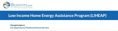 what is the home energy assistance program liheap