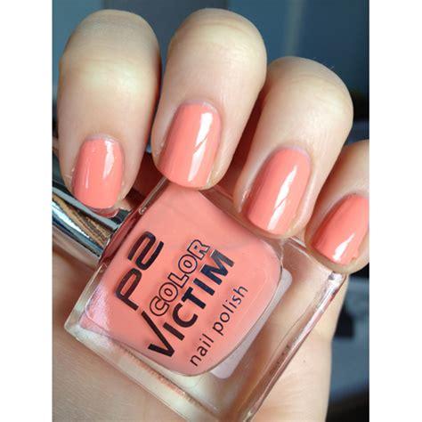 test nagellack p color victim nail polish farbe