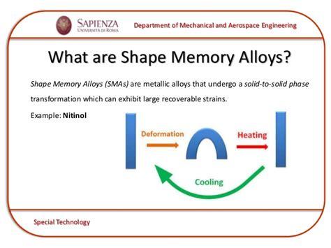 Shape Memory | shape memory alloys smas