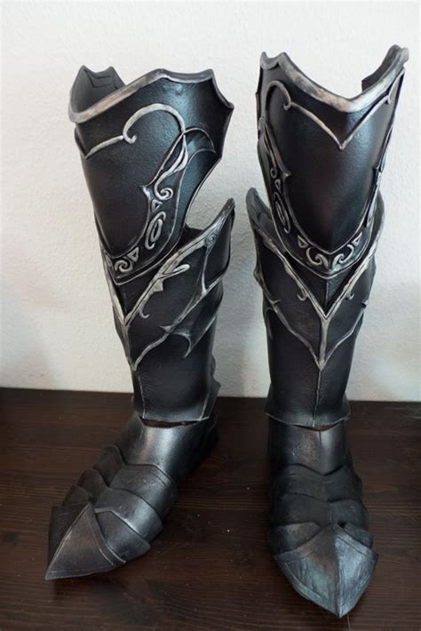 armor slippers skyrim boots by folkenstal armor costuem