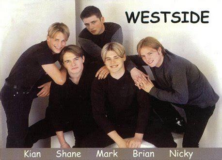 bands with a color in their name about westlife 20 years of boyband history