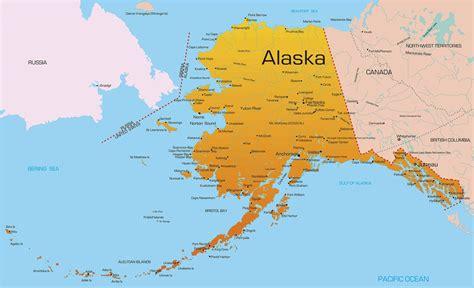 map of usa showing alaska alaska lpn requirements and programs