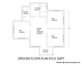 make a floor plan free plan of 2bhk house home design and style