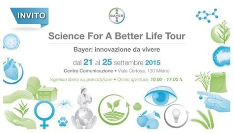 science for a better science for a better tour 2015 agronotizie difesa