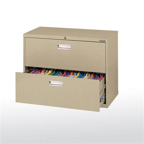 36 lateral file cabinet sandusky 600 series 36 in w 2 lateral file cabinet