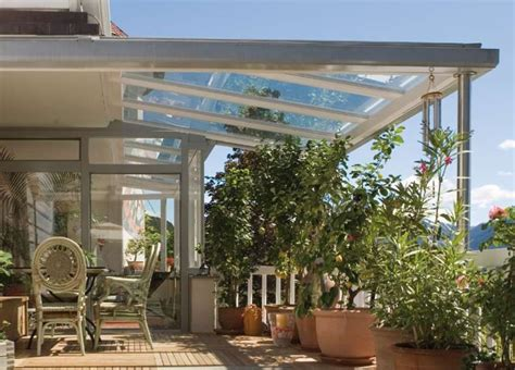 tettoie leggere tettoia tettoia in vetro finstral