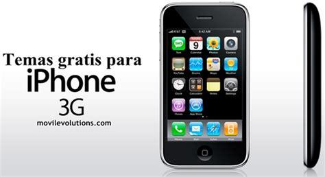 temas para iphone descarga temas gratis para iphone 3g