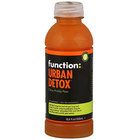 Walmart Detox Drinks In Store function detox citrus prickly pear drink 16 9 oz
